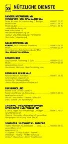 Infomerkblatt Frutigen und Umgebung - Seite 5