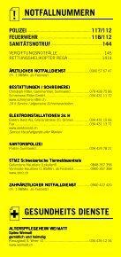 Infomerkblatt Sumiswald und Umgebung - Seite 2