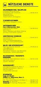 Infomerkblatt Sumiswald und Umgebung - Seite 6