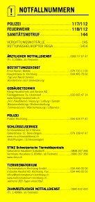 Infomerkblatt Kirchberg und Umgebung - Seite 2