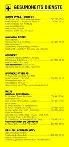 Infomerkblatt Kirchberg und Umgebung - Seite 3