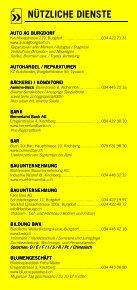 Infomerkblatt Kirchberg und Umgebung - Seite 6