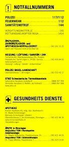 Infomerkblatt Binningen / Bruderholz - Seite 2