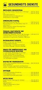 Infomerkblatt Binningen / Bruderholz - Seite 5