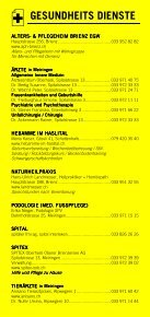 Infomerkblatt Meiringen und Umgebung - Seite 3