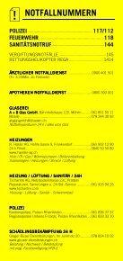 Infomerkblatt Kaiseraugst - Seite 2