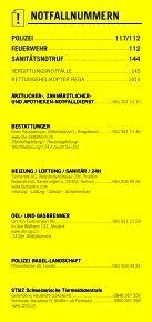 Infomerkblatt Liestal / Arisdorf / Hersberg - Seite 2