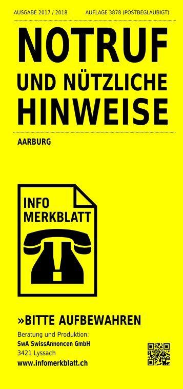 Infomerkblatt Aarburg