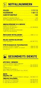 Infomerkblatt Egerkingen und Umgebung - Seite 2
