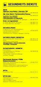 Infomerkblatt Egerkingen und Umgebung - Seite 3
