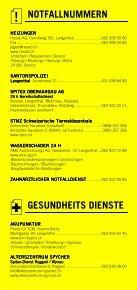 Infomerkblatt Langenthal und Umgebung - Seite 3