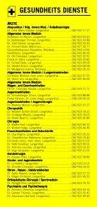 Infomerkblatt Langenthal und Umgebung - Seite 4