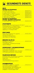 Infomerkblatt Langenthal und Umgebung - Seite 5