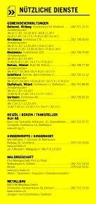 Infomerkblatt Schöftland und südliche Umgebung - Seite 6