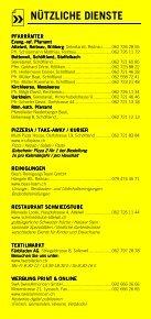 Infomerkblatt Schöftland und südliche Umgebung - Seite 7