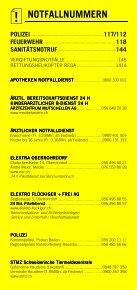 Infomerkblatt Niederrohrdorf / Oberrohrdorf und südliche Umgebung - Seite 2
