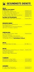Infomerkblatt Niederrohrdorf / Oberrohrdorf und südliche Umgebung - Seite 3