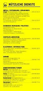 Infomerkblatt Niederrohrdorf / Oberrohrdorf und südliche Umgebung - Seite 4