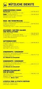 Infomerkblatt Niederrohrdorf / Oberrohrdorf und südliche Umgebung - Seite 5