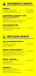 Infomerkblatt Emmen / Emmenbrücke - Seite 6
