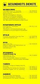 Infomerkblatt Hünenberg / Hünenberg See - Seite 4