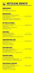 Infomerkblatt Hünenberg / Hünenberg See - Seite 5
