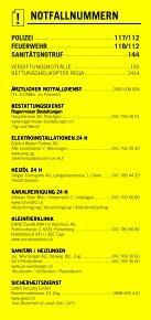 Infomerkblatt Zug und Umgebung - Seite 2