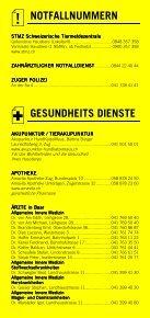 Infomerkblatt Zug und Umgebung - Seite 3