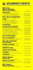 Infomerkblatt Zug und Umgebung - Seite 4