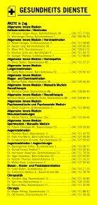 Infomerkblatt Zug und Umgebung - Seite 6