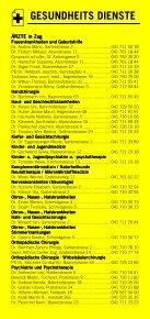 Infomerkblatt Zug und Umgebung - Seite 7