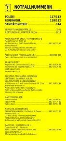 Infomerkblatt Region Surselva - Seite 2