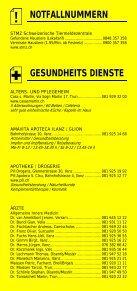 Infomerkblatt Region Surselva - Seite 3