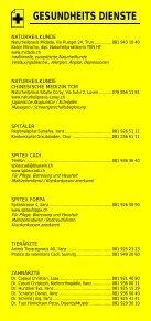 Infomerkblatt Region Surselva - Seite 5