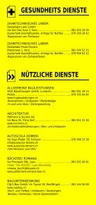 Infomerkblatt Region Surselva - Seite 6
