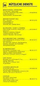 Infomerkblatt Region Surselva - Seite 7