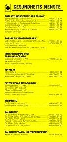 Infomerkblatt Goldau / Oberarth / Arth / Lauerz - Seite 3