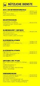Infomerkblatt Otelfingen / Boppelsen / Dänikon / Hüttikon - Seite 5