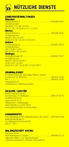 Infomerkblatt Otelfingen / Boppelsen / Dänikon / Hüttikon - Seite 6