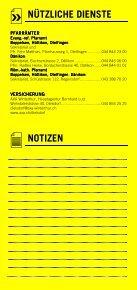 Infomerkblatt Otelfingen / Boppelsen / Dänikon / Hüttikon - Seite 7