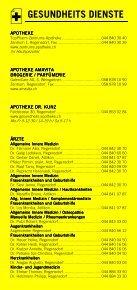 Infomerkblatt Regensdorf, Adlikon, Watt - Seite 3