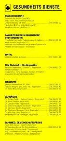 Infomerkblatt Regensdorf, Adlikon, Watt - Seite 5