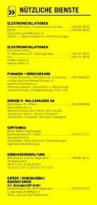 Infomerkblatt Regensdorf, Adlikon, Watt - Seite 7
