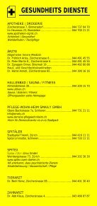 Infomerkblatt Uitikon / Waldegg - Seite 3