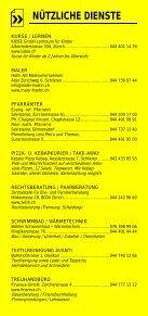 Infomerkblatt Uitikon / Waldegg - Seite 5