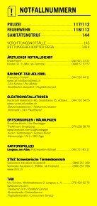 Infomerkblatt Langnau am Albis / Sihlbrugg Station / Sihlwald - Seite 2