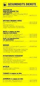 Infomerkblatt Langnau am Albis / Sihlbrugg Station / Sihlwald - Seite 3