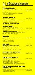 Infomerkblatt Langnau am Albis / Sihlbrugg Station / Sihlwald - Seite 4