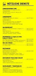 Infomerkblatt Langnau am Albis / Sihlbrugg Station / Sihlwald - Seite 5