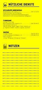 Infomerkblatt Langnau am Albis / Sihlbrugg Station / Sihlwald - Seite 6
